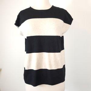 Philosophy Striped knit Sleeveless sweater vest